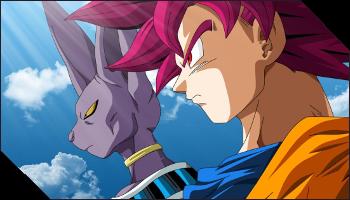 Beerus et Goku SSG