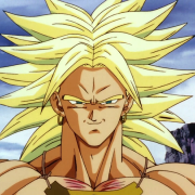 Broly super saiyen normal