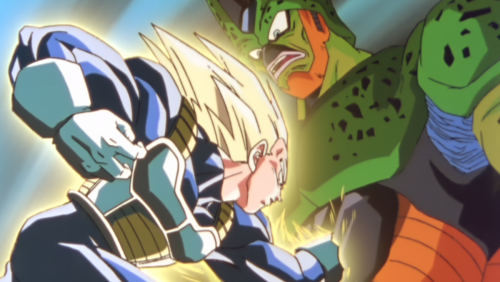 Vegeta contre Cell