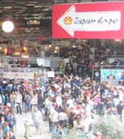 La foule dans l'un des hall du salon
